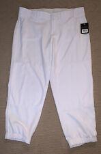 NWT New Men's Baseball Boombah Athletic White Pants Size 36