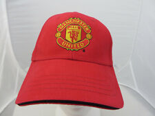 Manchester United soccer football baseball cap hat adjustable v