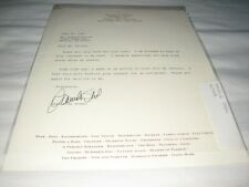 More details for scarce danielle steel full page signed letter on her headed paper very good cond