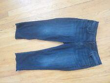 Silver Jeans dark Wash Avil Capri Crop Jeans Sz 29
