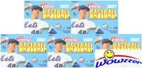 (5) 2021 Topps Heritage Baseball EXCLUSIVE HUGE Factory Sealed Blaster Box !