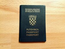 Republic of Croatia, Collectible passport, Cancelled