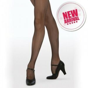 Quality Tights UK Made Silky Fishnet Dance Ballet Tights Child Adult Sizes