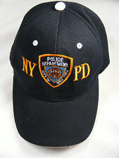 NYPD - Police Adjustable Navy Blue Ball Cap Baseball Cap Lightly Used
