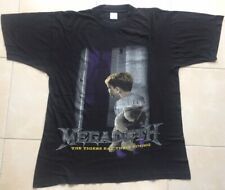 Megadeth Youthanasia 1994/1995 Official Vintage Black T-Shirt (XL) Metallica