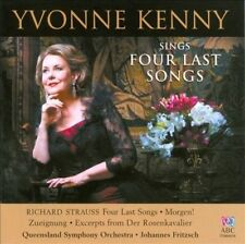 NEW - Yvonne Kenny Sings Four Last Songs by STRAUSS R