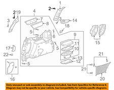 GM OEM Side Panel-Lock Pillar Trim Clip 10408480