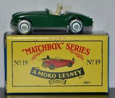1956 MG MIDGET ~ LIMITED EDITION ~ Matchbox Recreation Originals No. 19. ON CARD