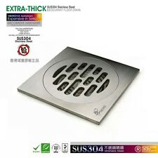 VIBORG SUS-304 Stainless Steel Casting Ultra-thick Super Heavy-duty Floor Drain