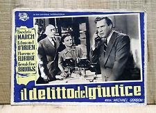 IL DELITTO DEL GIUDICE fotobusta poster March Telephone An Act of Murder F28