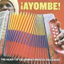 VARIOUS ARTISTS - AYOMBE!: THE HEART OF COLOMBIA'S MUSICA VALLENATA (NEW CD)