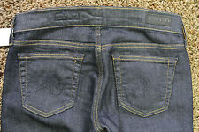 AG Adriano Goldschmied THE TOMBOY CROP THEORY 26 Jeans NWT$195  Handcrated! Dark