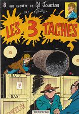 Gil Jordan 8. Les 3 Taches. TILLIEUX 1967. Superbe