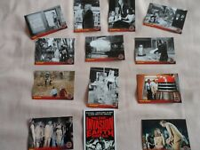 DR WHO DALEKS INVASION EARTH PUBLICITY CARDS SPARES LOT