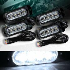 16 LED WHITE CAR EMERGENCY BEACON HAZARD WARNING FLASH STROBE LIGHT UNIVERSAL