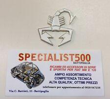 FIAT 500 F.L-R SCORPIONCINO SMALTATO ABARTH BIANCO
