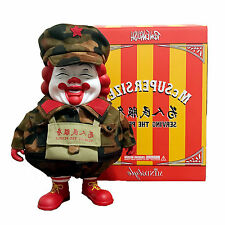 Ron English Jakarth Big Mc Supersized Camo Figure Popaganda China Hong Kong