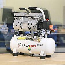 New Low Noise Oilless Silent 10L Air Compressor 600W 230V 8 Bar 75L/min 66dB