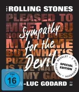 The Rolling Stones: Sympathy For The Devil (OmU)[Blu-ray & DVD Mediabook /NEU]