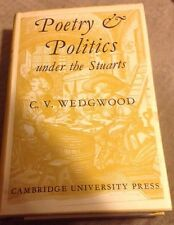 Signed Cicely Veronica Wedgwood 1960  Dj Poetry & Politics Under The Stuart's