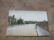1906 fr Leicestershire postcard - Station Road Lutterworth