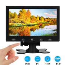 7 inch LCD CCTV Monitor Mini HD Screen for CCTV PC Raspberry PI DSLR w/ Speaker