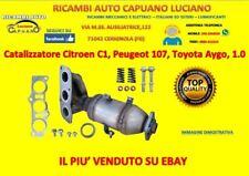 Catalizzatore Citroen C1, Peugeot 107, Toyota Aygo, 1.0