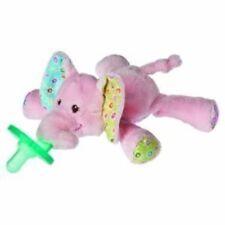 Mary Meyer WubbaNub Infant Newborn Baby Soothie Pacifier ~ Ella Bella Elephant