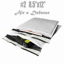 1000 2 85x12 Poly Bubble Padded Envelopes Mailers Shipping Bags Airndefense