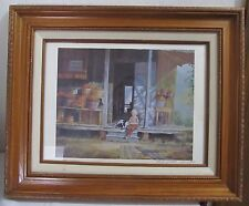 GERARD'S. BATON ROUGE 1981 NUMBERED& PENCIL SIGNED LITHOGRAPH BY ROBERT M.RUCKER