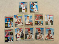 St. Louis Cardinals  - 2019 TOPPS HERITAGE BASE TEAM LOT Inserts
