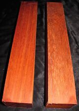 PADUAK TURNING BLANKS 2X2X12- 2PCS W/FREE SHIPPING-EXOTIC WOOD