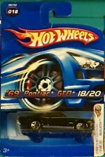 Hot Wheels 2005 First Editions Realistic '69 Pontiac GTO Black #018 18/20