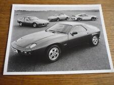 PORSCHE RANGE 1977/78 ORIGINAL PRESS PHOTO