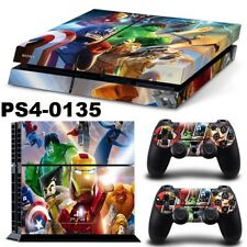 PS4 Protective Skin Sticker Set Console and 2 Controllers - #135