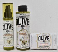 Korres Pure Greek Olive Anti-ageing Body Oil Honey+Shower gel Honey+Soap Honey