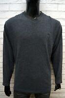 TIMBERLAND Maglione Maglia Grigio Uomo Pullover Felpa Sweater Man Taglia XL