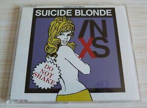 CD MAXI SINGLE 4 TITRES INXS SUICIDE BLONDE 1990