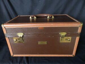 vintage Hartman luggage hard shell makeup case