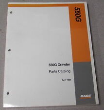 Case 550G Crawler Tractor Parts Manual Catalog 7-1220 1995