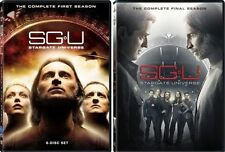 SGU STARGATE UNIVERSE COMPLETE SERIES Set DVD Seasons 1 2 Collection TV Show Lot