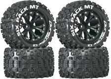 Duratrax  2.8 Mounted Six Pack MT Tires Wheels 4WD Stampede Savage XS Flux F / R