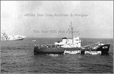 Photo: USCG Cutter Hornbeam Rescues Andrea Doria's Crew, July 26th, 1956
