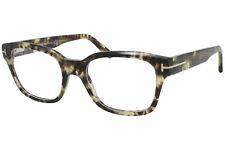 Tom Ford TF5535-B 056 Eyeglasses Men's Havana Full Rim Square Optical Frame 52mm