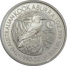 1 DOLLARS 2015-AUSTRALIE-KOOKABURRA AVEC couillu Chèvre - 1 oz ag