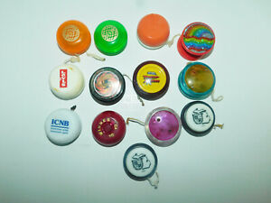 Vintage Lot of 13 Yo-yos Duncan,Yomega and others