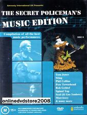 The SECRET POLICEMAN'S BALL - LIVE MUSIC EDITION DVD (NEW SEALED) Policemans