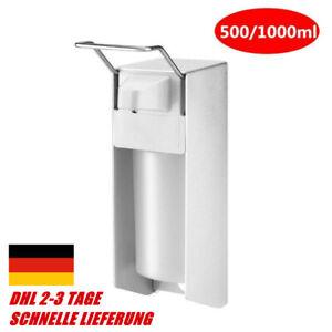 1/2x 500/1000ML Desinfektionsmittelspender Wand Eurospender Seifenspender