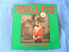 """Wales Land Of Song Newport Male Voice Choir 1974 NM/EX """"A"""""""""""