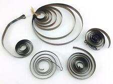 Miscellaneous Lot Antique Vintage Coil Main Spring For Mantel Clocks I679